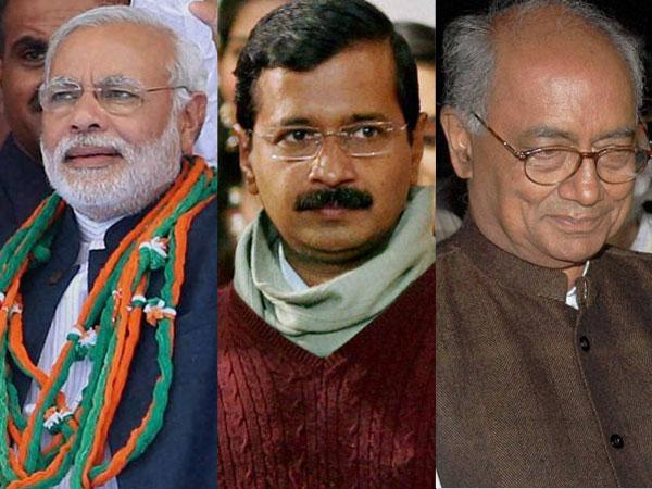Digvijay to contest against Modi
