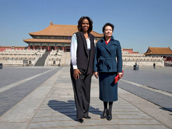 Michelle Obama in Beijing