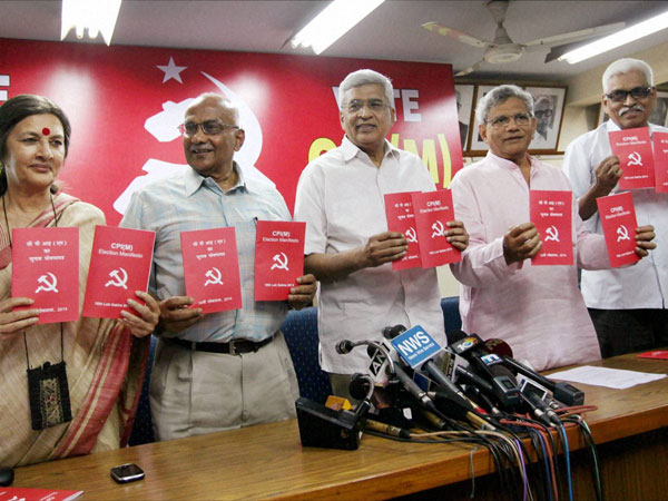 CPI (M) releases its election manifesto