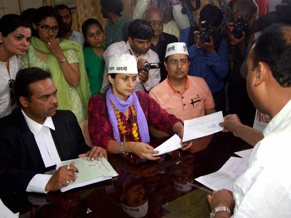 Gul Panag files her nomination