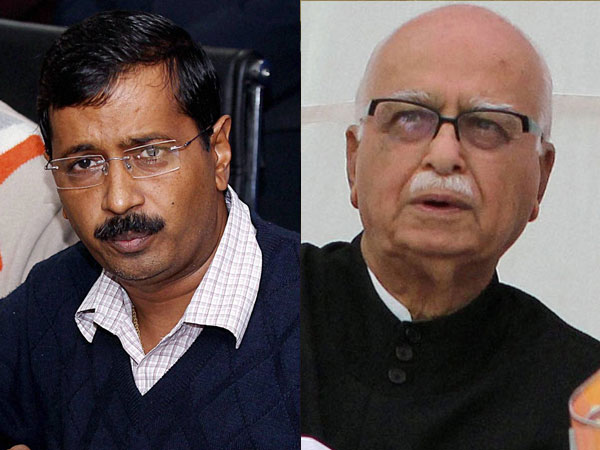 Kejriwal asks Advani to change his name