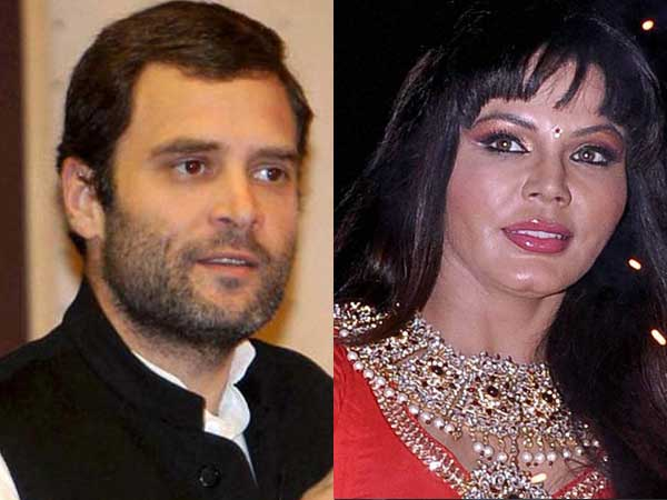 Rakhi Sawant's love for Rahul Gandhi