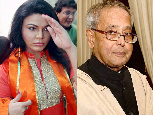 When Rakhi Sawant applauded Pranab Mukherjee