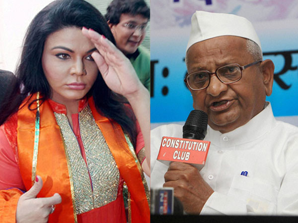 "Rakhi Sawant called Anna Hazare ""He-Man""!"