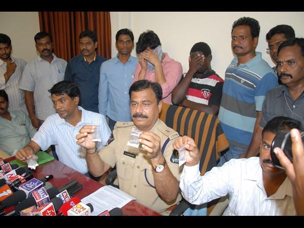Telugu actor held for drug trafficking