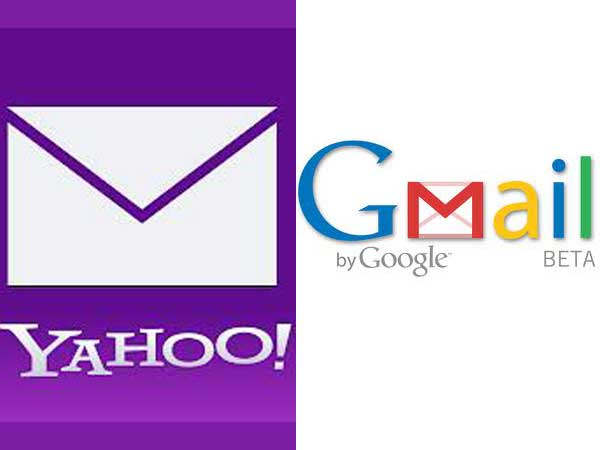 Yahoo and Gmail
