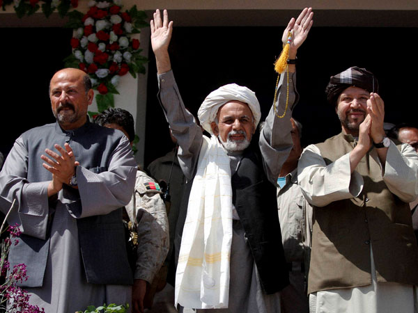Afghan Presidential election on April 5