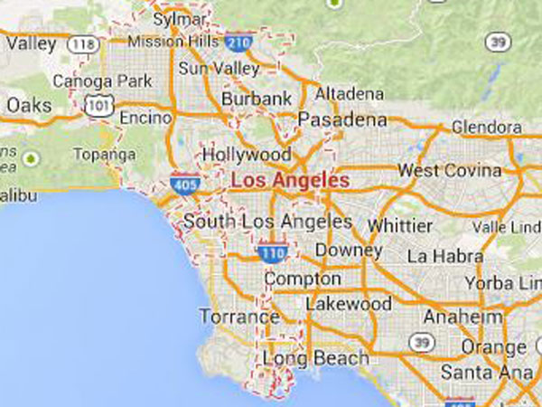 quake hits Los Angeles