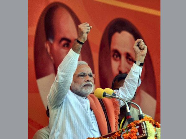 Modi addresses rally in UP