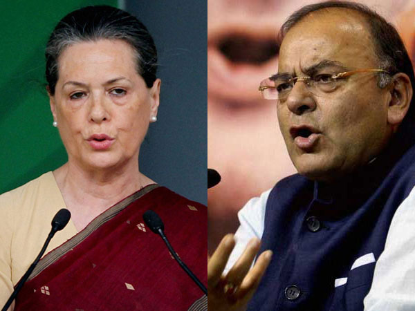 Jaitley attacks Sonia