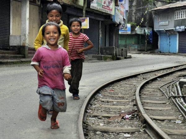 Children do not vote, hence ignored