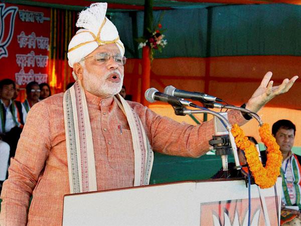 Narendra Modi in Assam