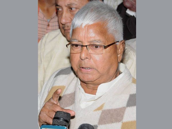 Lalu urges parties to unite against Modi