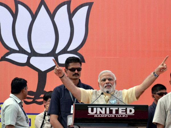 Narendra Modi in Uttar Pradesh