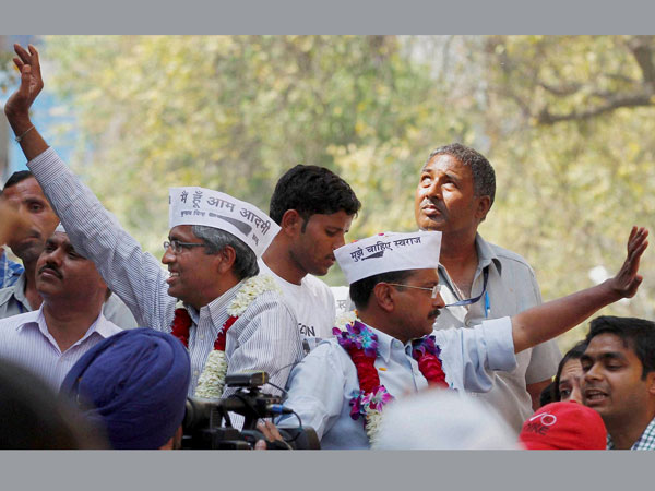 AAP chief Arvind Kejriwal campaign for Lok Sabha elections