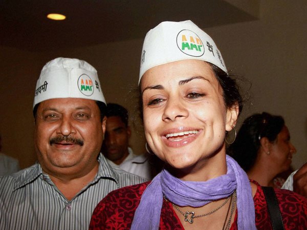 Gul Panag during a meeting in Chandigarh