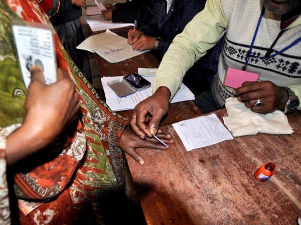 Poll booths