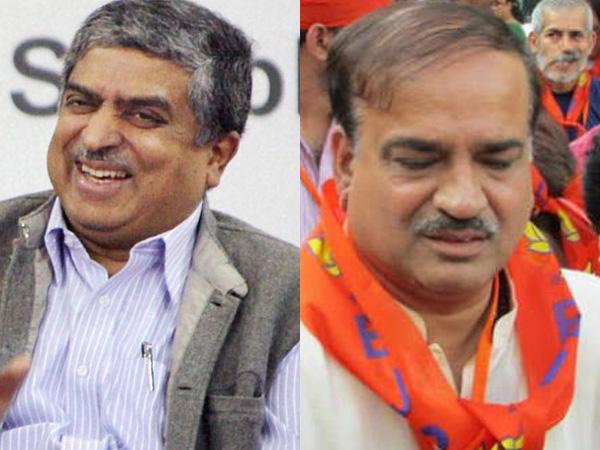 Nilekani carries Congress baggage: BJP