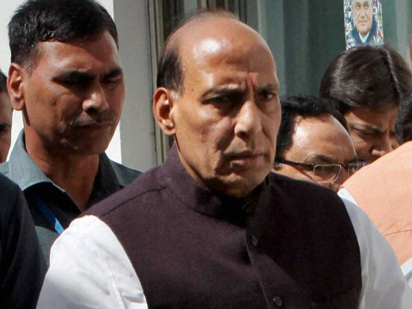Rajnath Singh takes a dig at Rahul