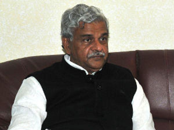 Sriprakash Jaiswal files nomination