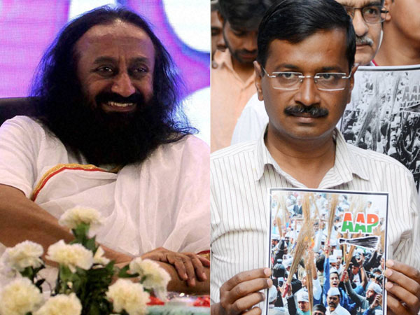 Arvind upset with Sri Sri Ravishankar