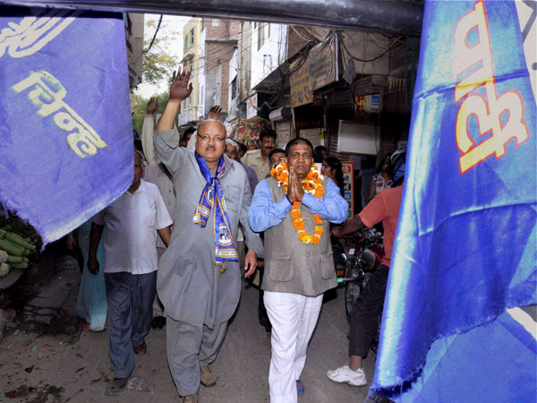 BSP candidate from East Delhi Shakeel Saifi