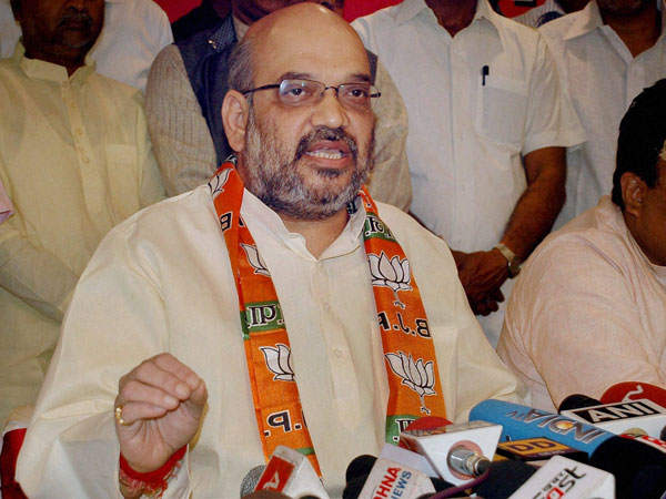 AAP demands action against Amit Shah