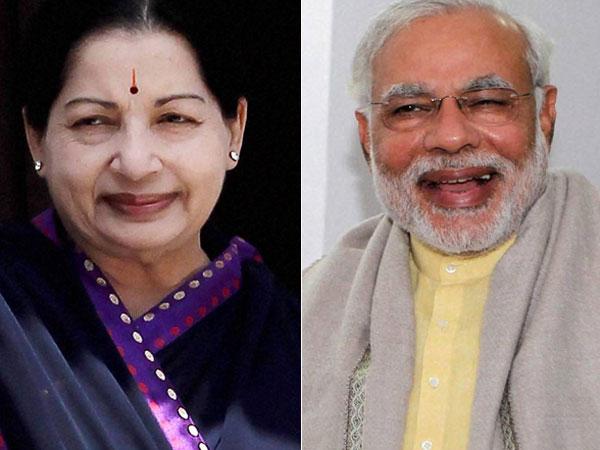 Jayalalitha-Narendra Modi