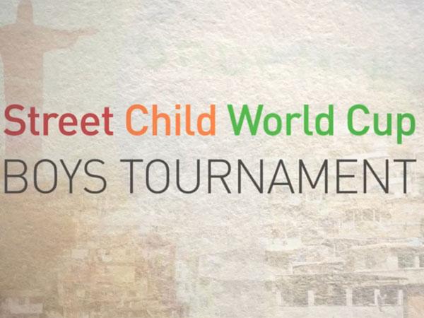 Street Child World Cup football