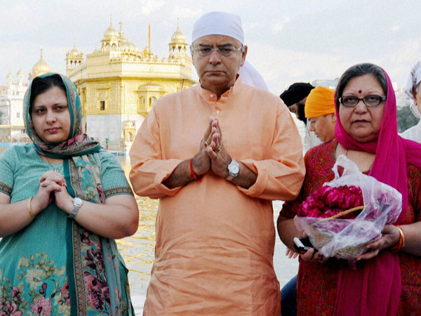 BJP Candidate from Amritsar Arun Jaitley