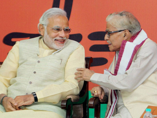 Narendra Modi and Murli Manohar Joshi