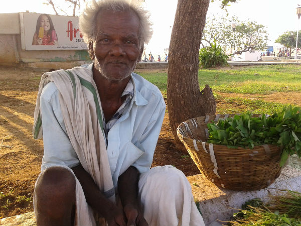 Jayaraman, Vegetable vendor - 72 years