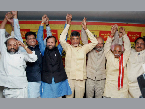 Alliance with BJP will cause tsunami:TDP