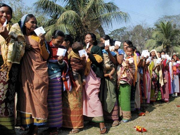 Quarter of Tripura voters cast ballot
