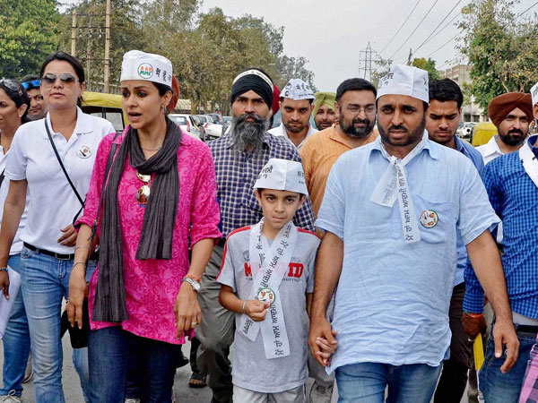 AAP candidate from Chandigarh Gul Panag