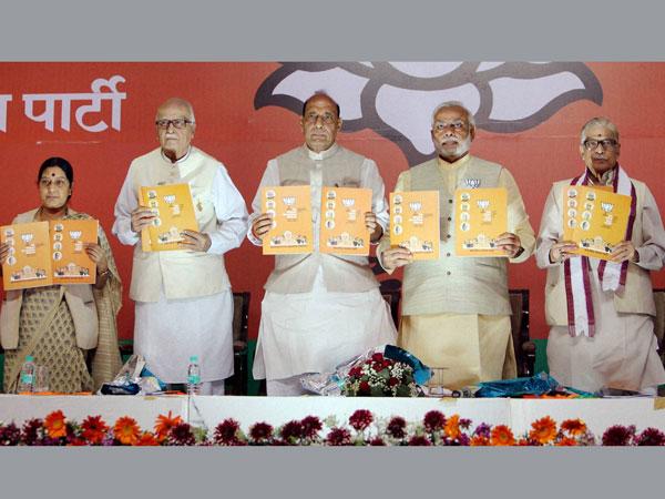 BJP releases manifesto