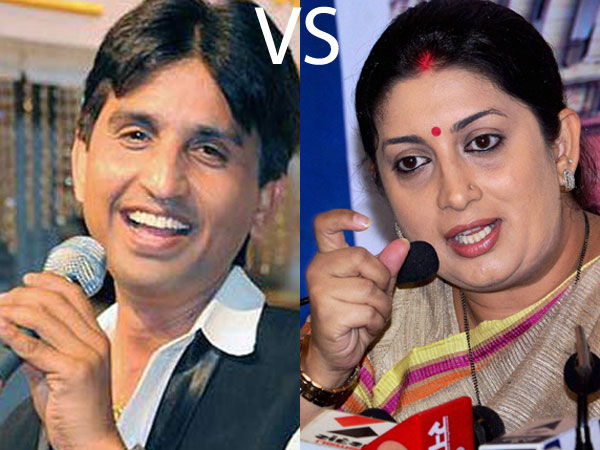 Smriti Irani attacks Kumar Vishwas