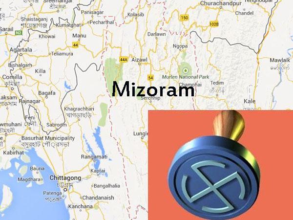 mizoram-assembly-poll-map