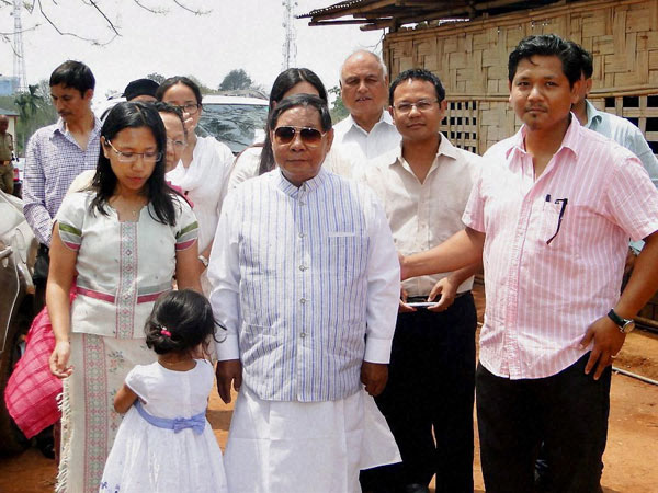 Former Speaker and National People's Party candidate PA Sangma