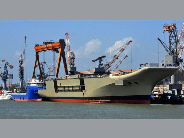 INS Vikrant sold for Rs 60 cr