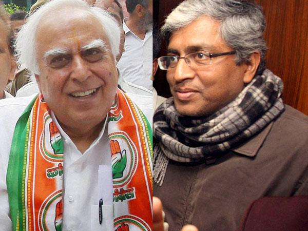Ashutosh alleges Sibal