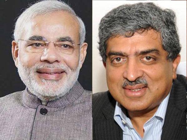 War of words: Modi slams Nilekani
