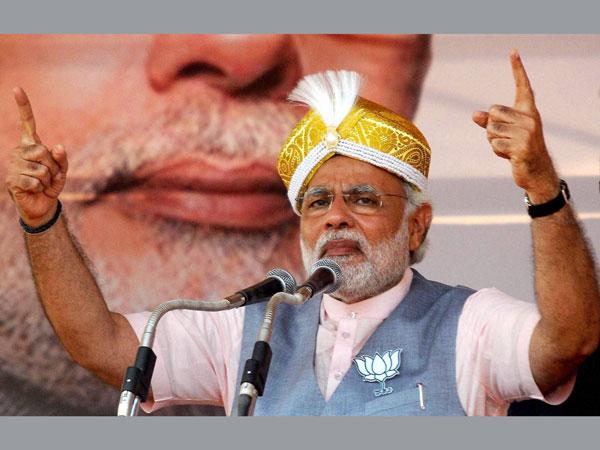 Modi corners Rahul, question Vadra