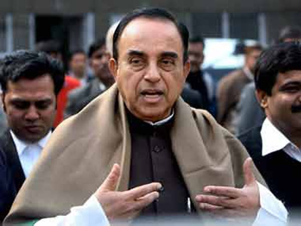 BJP leader Subramanian Swamy
