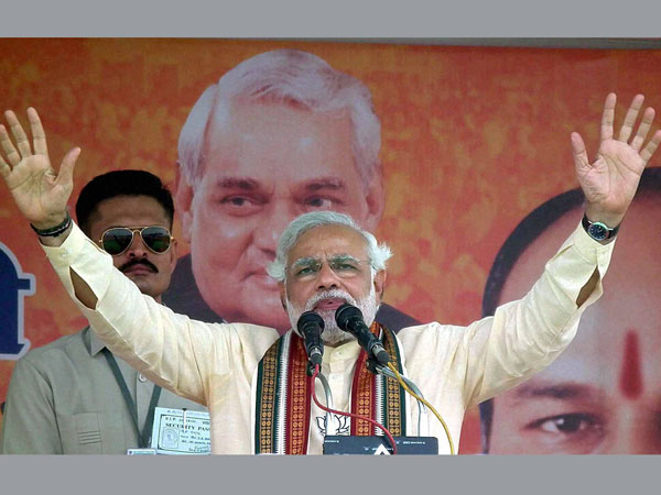 Follow live: Modi slams corrupt UPA govt in rally in Darjeeling