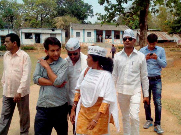 Aam Aadmi Party candidate from Bastar, Soni Sori