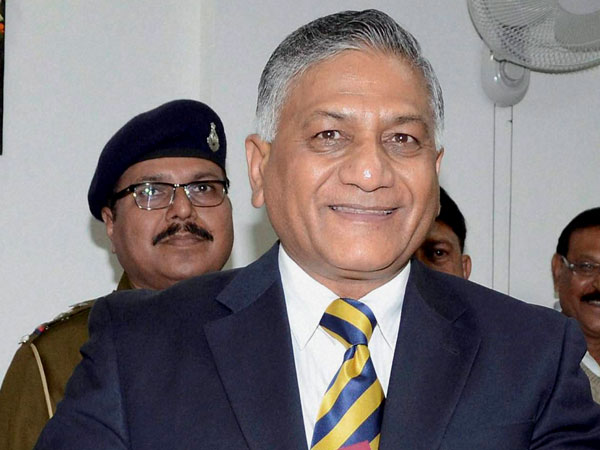 VK Singh cries foul play during polls