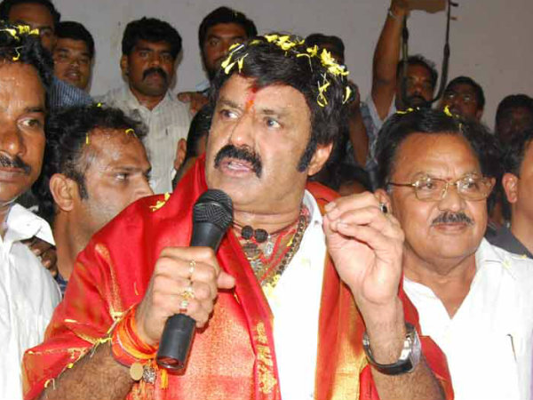 Balakrishna enters AP poll fray on TDP