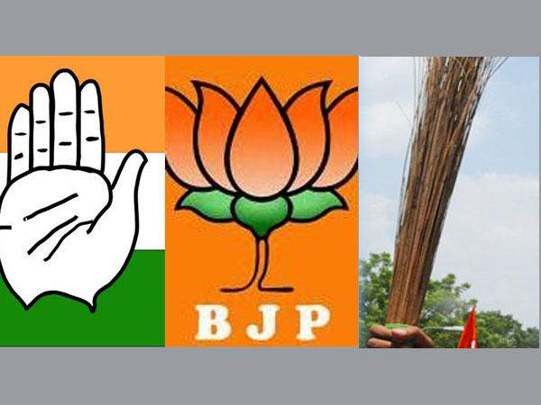 Congress, BJP, AAP