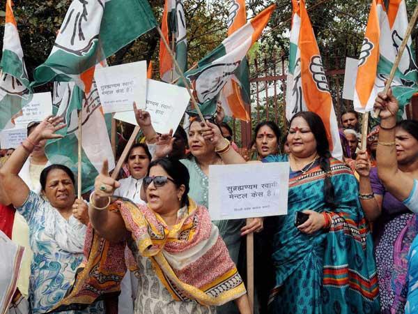 BJP's Swamy calls Priyanka an alcoholic